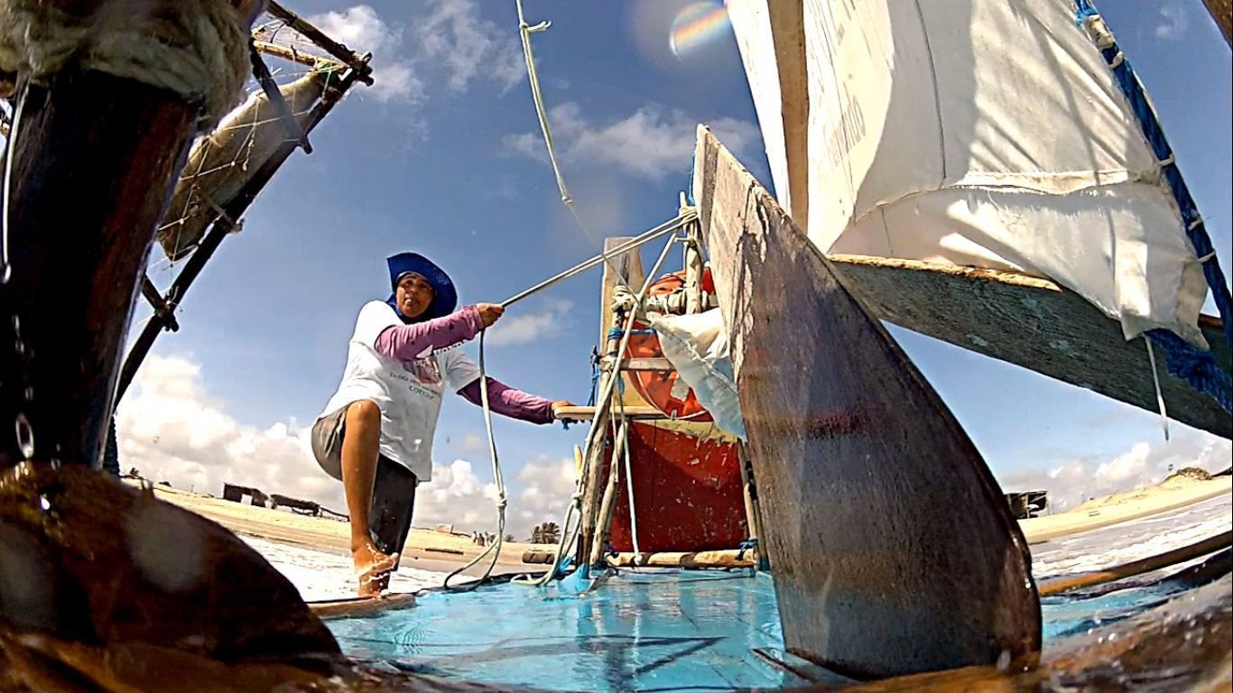Mulheres Pescadoras é selecionado no Festival de Jericoacora