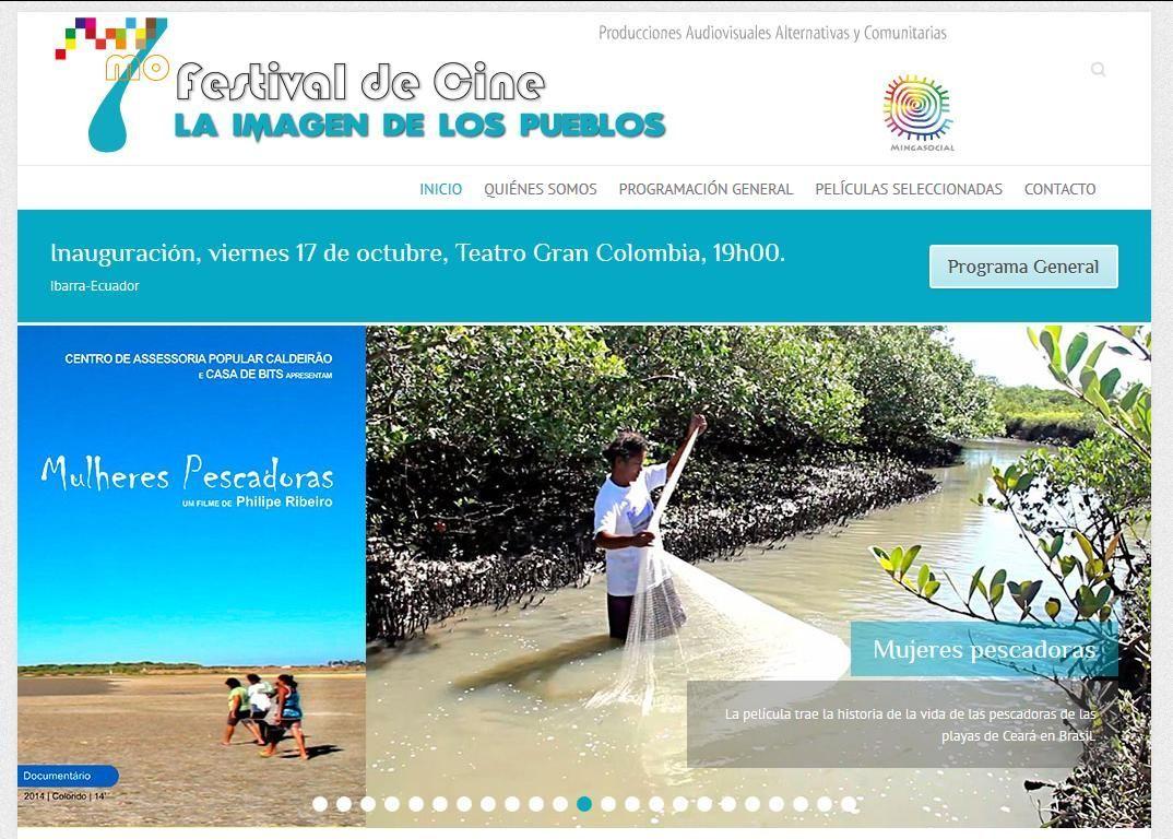Mulheres Pescadoras é selecionado no Festival de Cine La Imagen de los Pueblos